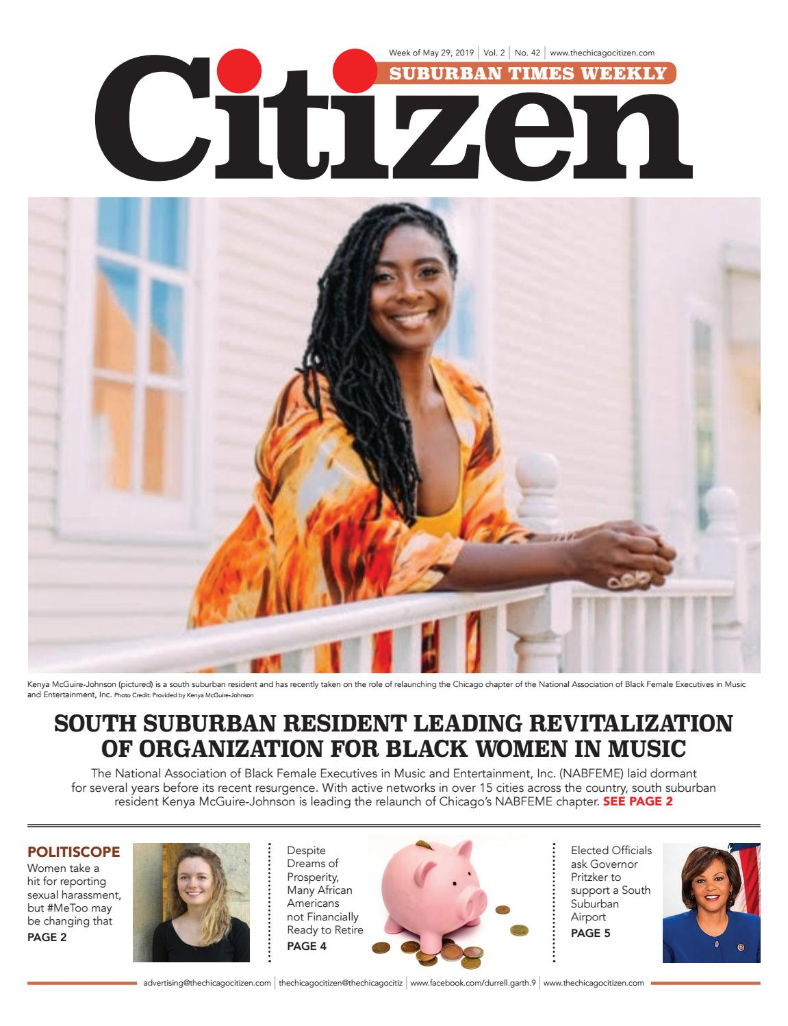 Citizen Suburban Times Weekly 5-29-2019 by CHICAGO CITIZEN