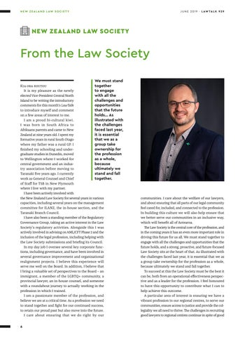 Page 6 of · From the Law Society 7 · New Zealand Law Society