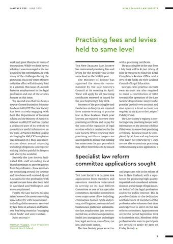 Page 7 of · From the Law Society 7 · New Zealand Law Society