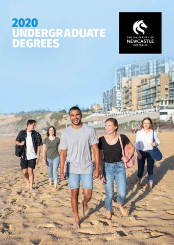 2020 Undergraduate Degrees by The University of Newcastle - issuu
