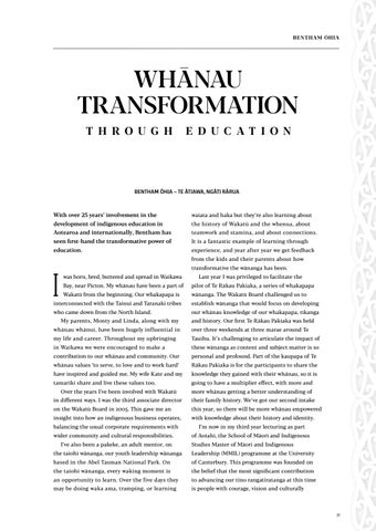 Page 33 of Whānau Transformation Through Education