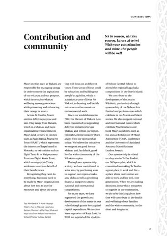 Page 51 of Contribution and Community