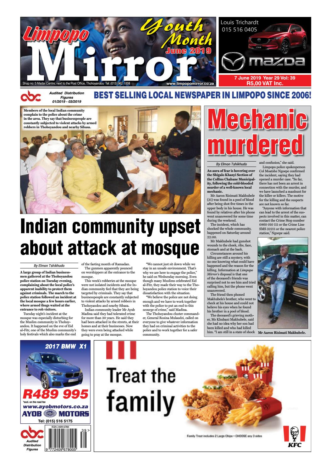 Limpopo Mirror 7 June 2019 by Zoutnet - issuu