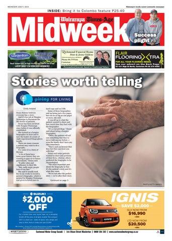 Wairarapa Midweek 5th June 2019 by Wairarapa Times-Age - issuu