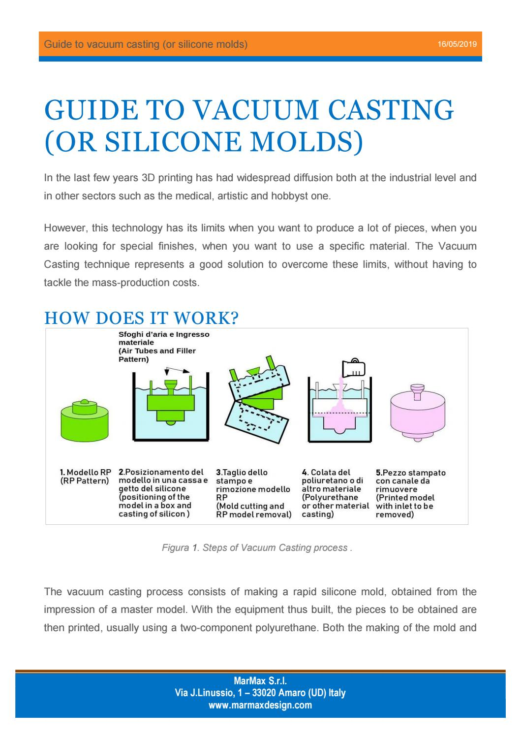 Guide to vacuum casting by marmaxdesign - issuu