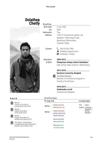 Page 4 of Resume
