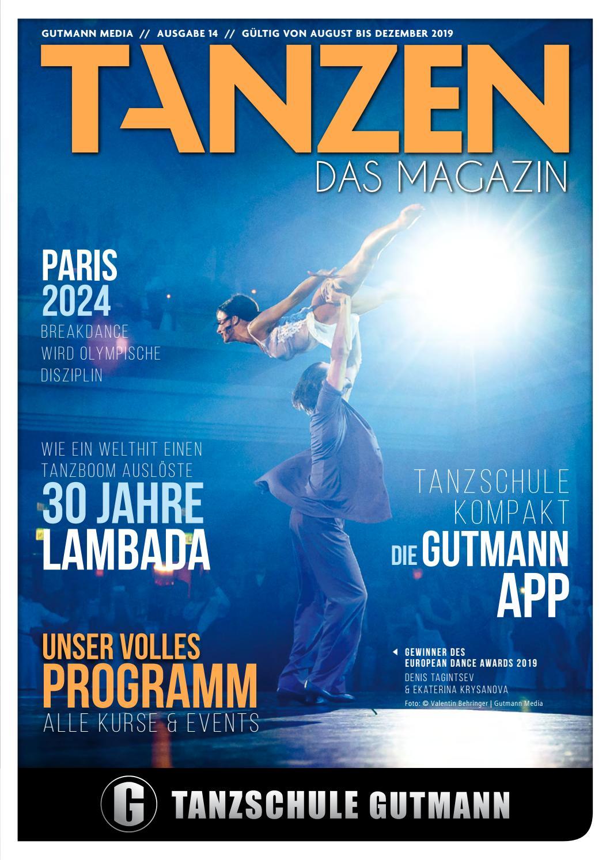Tanzen Das Magazin Tanzschule Gutmann Freiburg Ausgabe