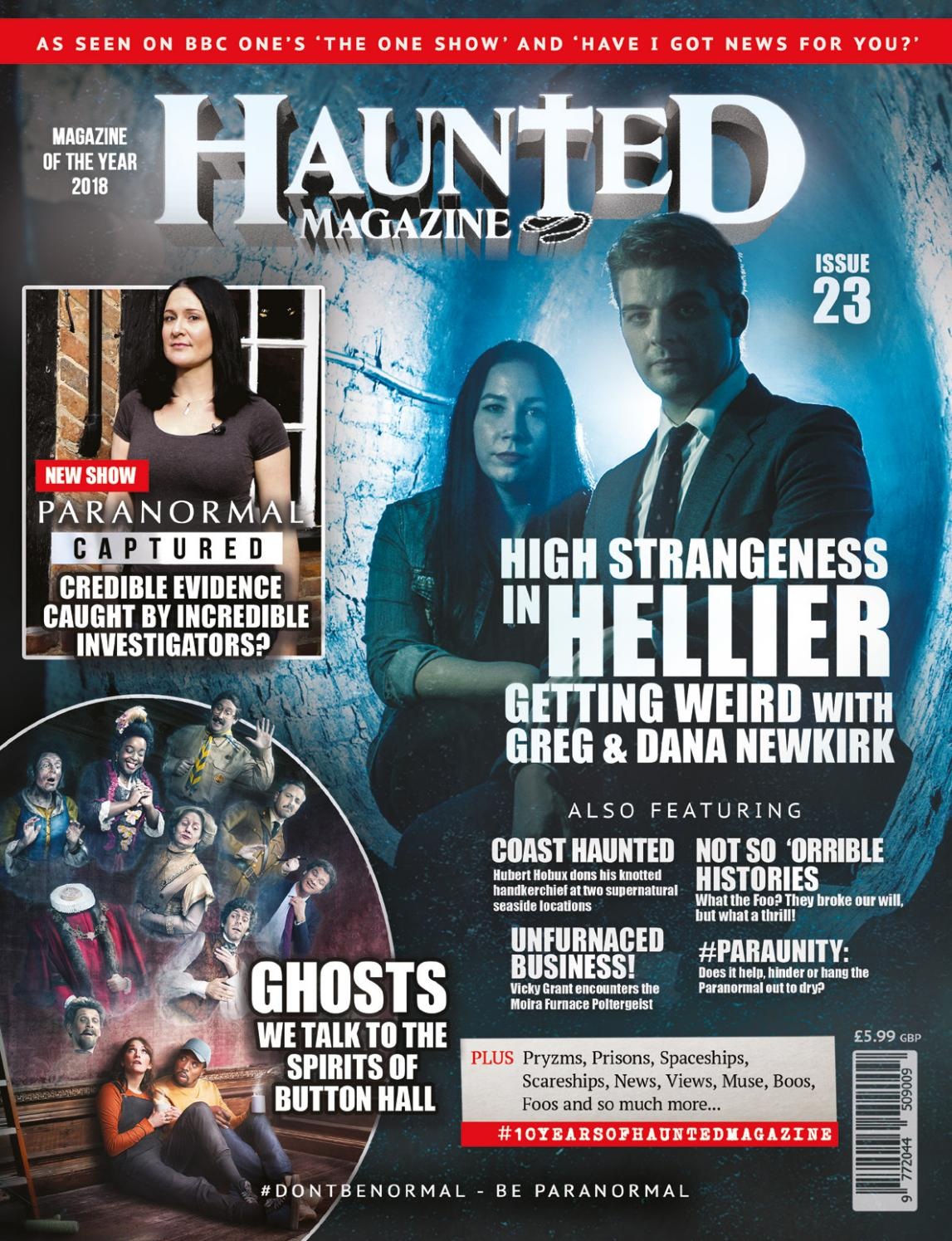 Haunted Magazine Issue 23 with Greg and Dana Newkirk by Dead