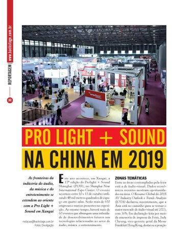 Page 36 of Pro Light + Sound na China em 2019