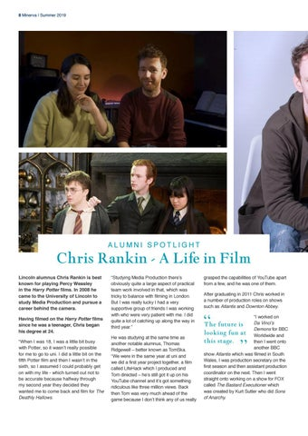 Page 8 of Chris Rankin: A Life in Film