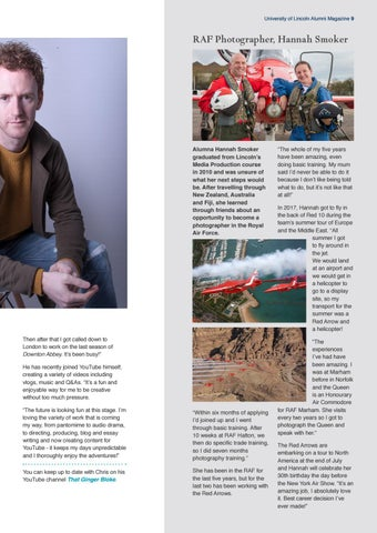 Page 9 of Chris Rankin: A Life in Film