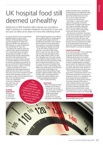 Page 47 of UK hospital food still deemed unhealthy