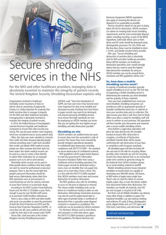 Page 71 of Secure shredding services in the NHS