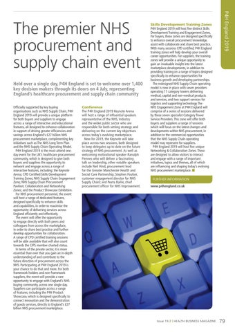 Page 79 of The premier NHS procurement and supply chain event