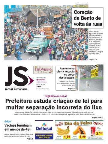 3ef87b027 Jornal Semanário – 05 de junho de 2019 – ano 52 – nº 3546 by Jornal ...