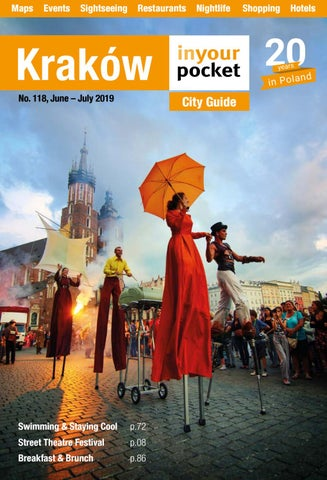 Krakow In Your Pocket June July 2019 By Poland In Your
