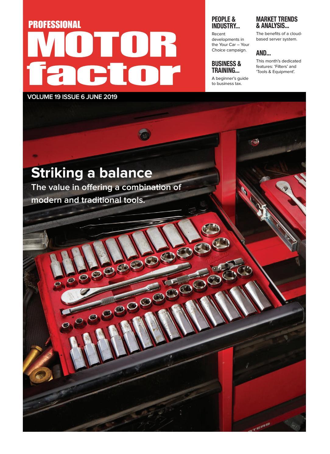 Professional Motor Factor June 2019 by Hamerville Media Group - issuu