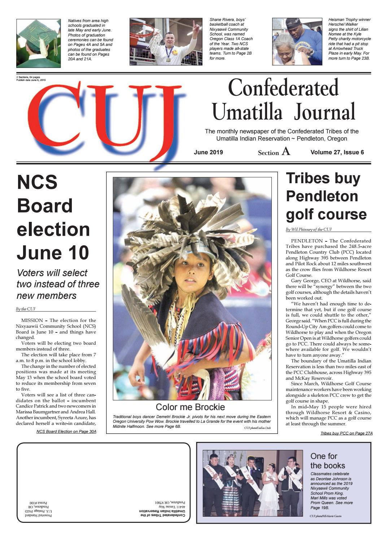 Confederated Umatilla Journal 06-2019 by Confederated