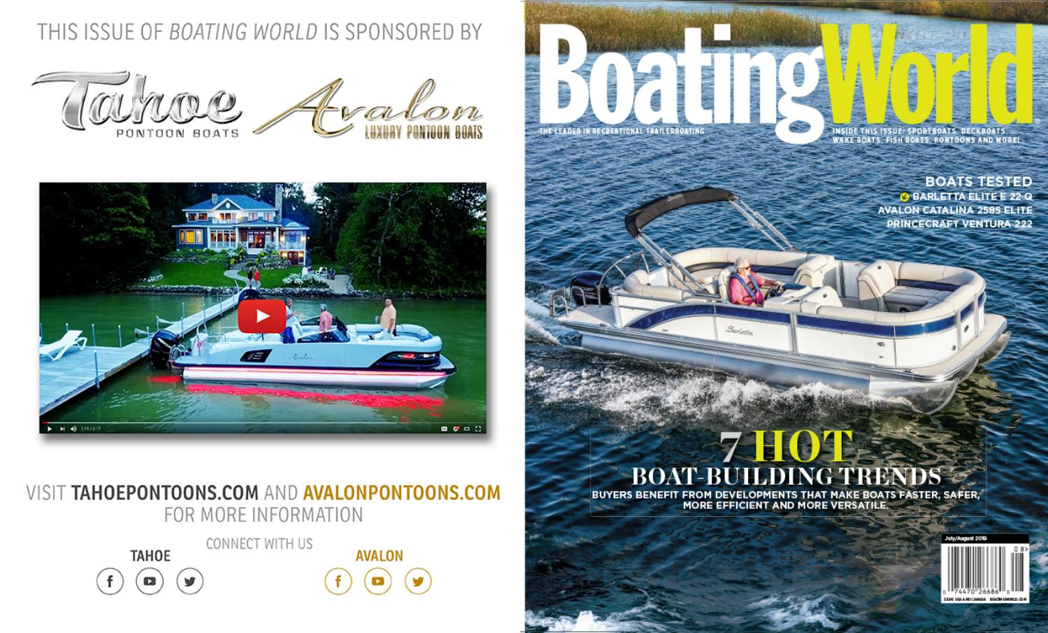 July/August 2019 Boating World Magazine by Duncan McIntosh Company