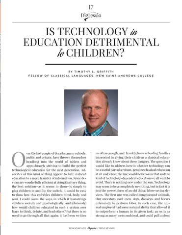 Page 17 of Is Technology in Education Detrimental to Children?