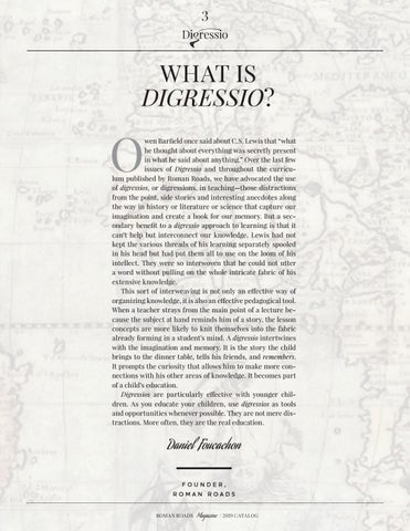 Page 3 of What is Digressio?