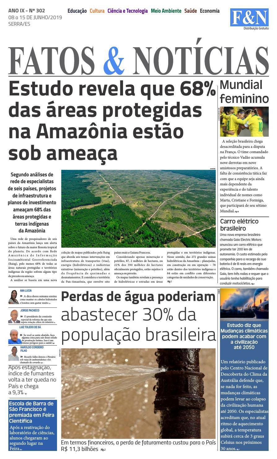 d3f7e320a Jornal Fatos & Notícias Ed. 302 by Jornal Fatos e Noticias - issuu