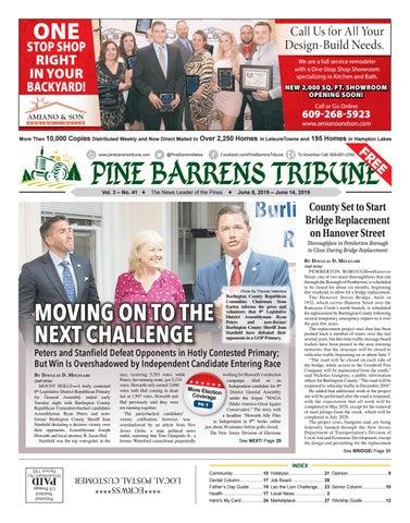 Pine Barrens Tribune June 7- June 14, 2019 by Pine Barrens