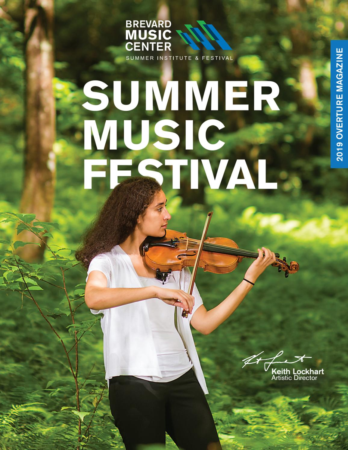 2019 BMC Overture Magazine by Brevard Music Center - issuu