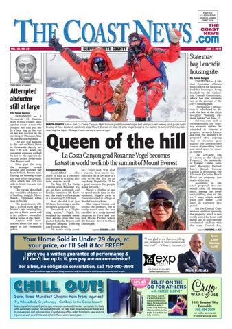 The Coast News, June 7, 2019 by Coast News Group - issuu