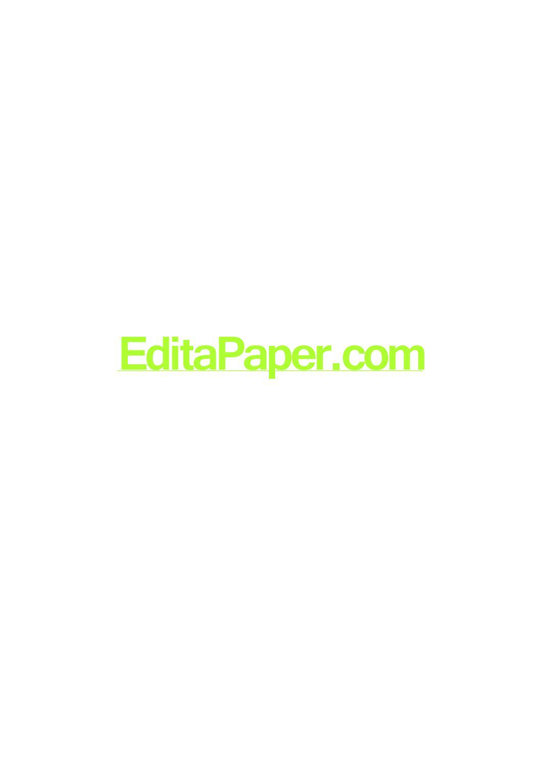 Popular term paper editing service