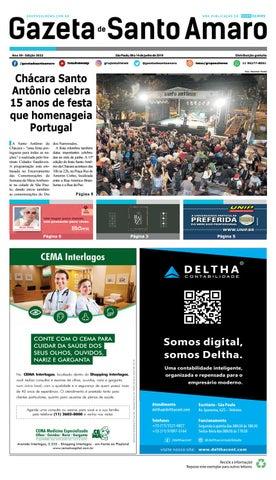 76d885b37 GAZETA DE SANTO AMARO- Edição 3022 - São Paulo, 08 a 14 junho de ...