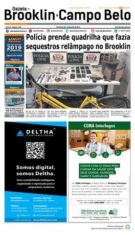 3f44b6255 GAZETA DO BROOKLIN - Edição 1203 - São Paulo, 08 a 14 junho de 2019 ...