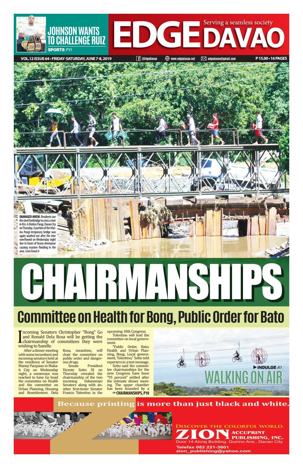 Edge Davao Volume 12 Issue 64   Friday-Saturday, June 7-8