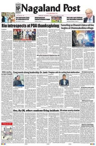 June 8, 2019 by Nagaland Post - issuu