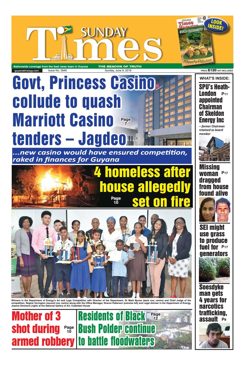 Guyana Times - Sunday, June 9, 2019 by Gytimes - issuu