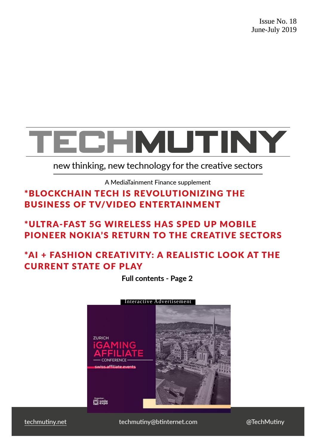 TECHMUTINY ISSUE NO 18 by Juliana K - issuu