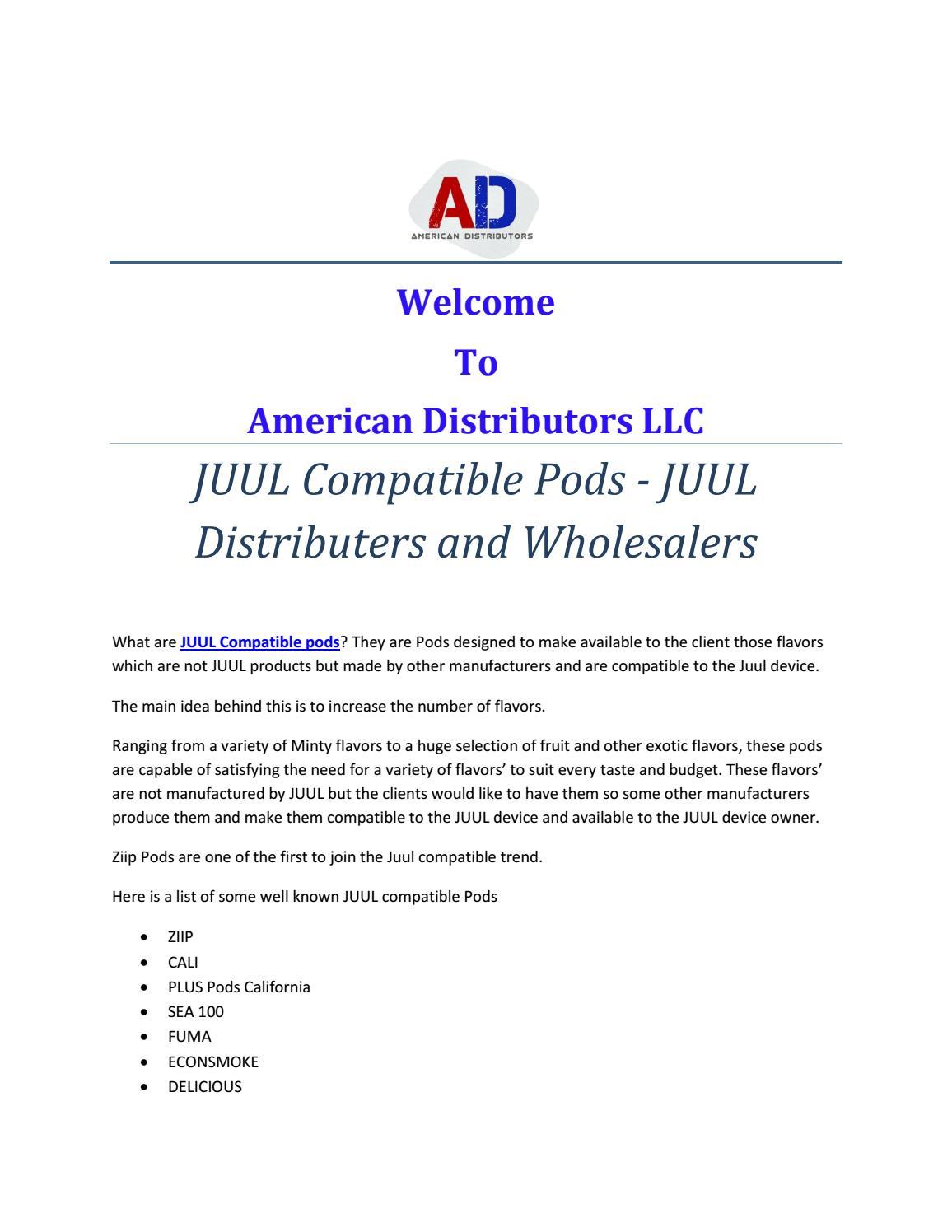 Juul Wholesalers Usa