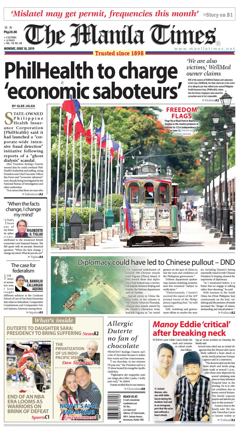 525970a57 THE MANILA TIMES | JUNE 10, 2019 by The Manila Times - issuu