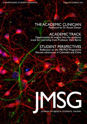JMSG Volume 5, 2019 by Journal of Medical Students, Galway