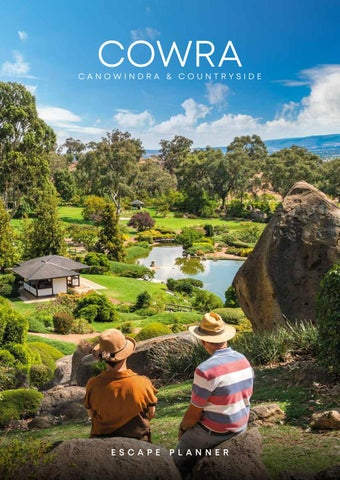 Cowra, Canowindra & Countryside Escape Planner by Vink Publishing