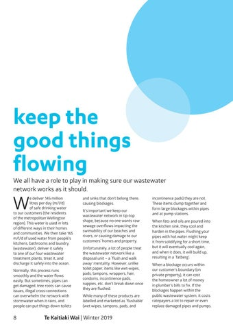 Page 10 of Keep the good things flowing