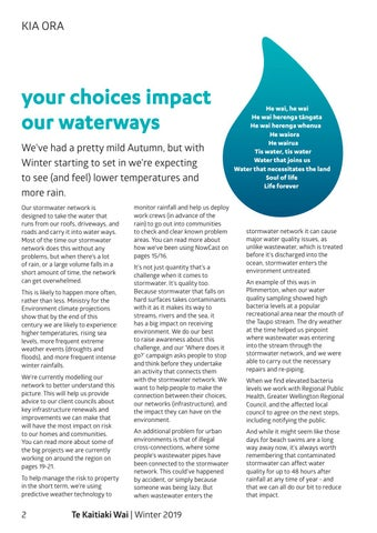 Page 4 of Your choices impact our waterways