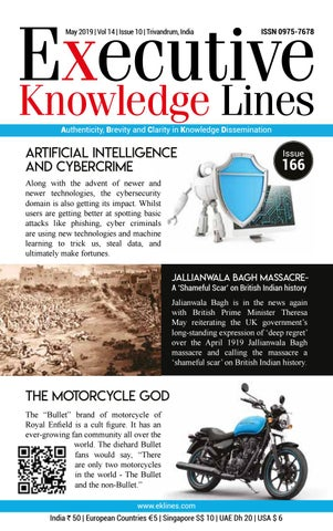 Executive Knowledge Lines - May 2019 by Metro Mart Magazine