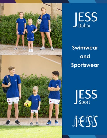 46e224430 JESS sportswear and swimwear requirements by JESS Dubai - issuu