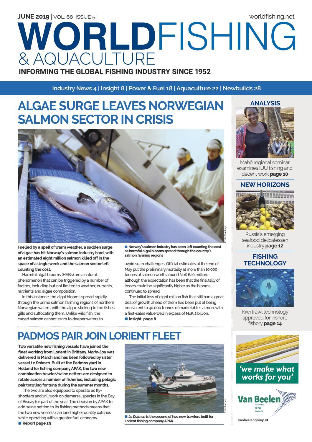 World Fishing & Aquaculture June 2019 by Mercator Media - issuu