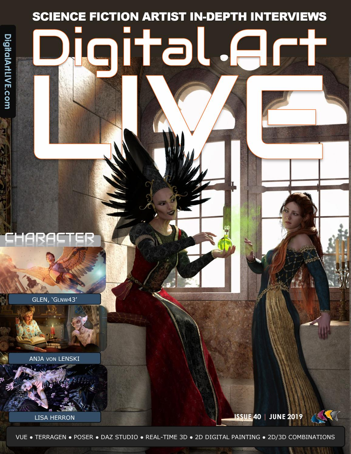 Digital Art Live Issue 40 by Digital Art Live - issuu