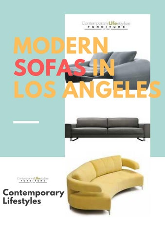 Remarkable New Modern Sofas Los Angeles By Contemporary Lifestyles Issuu Gamerscity Chair Design For Home Gamerscityorg