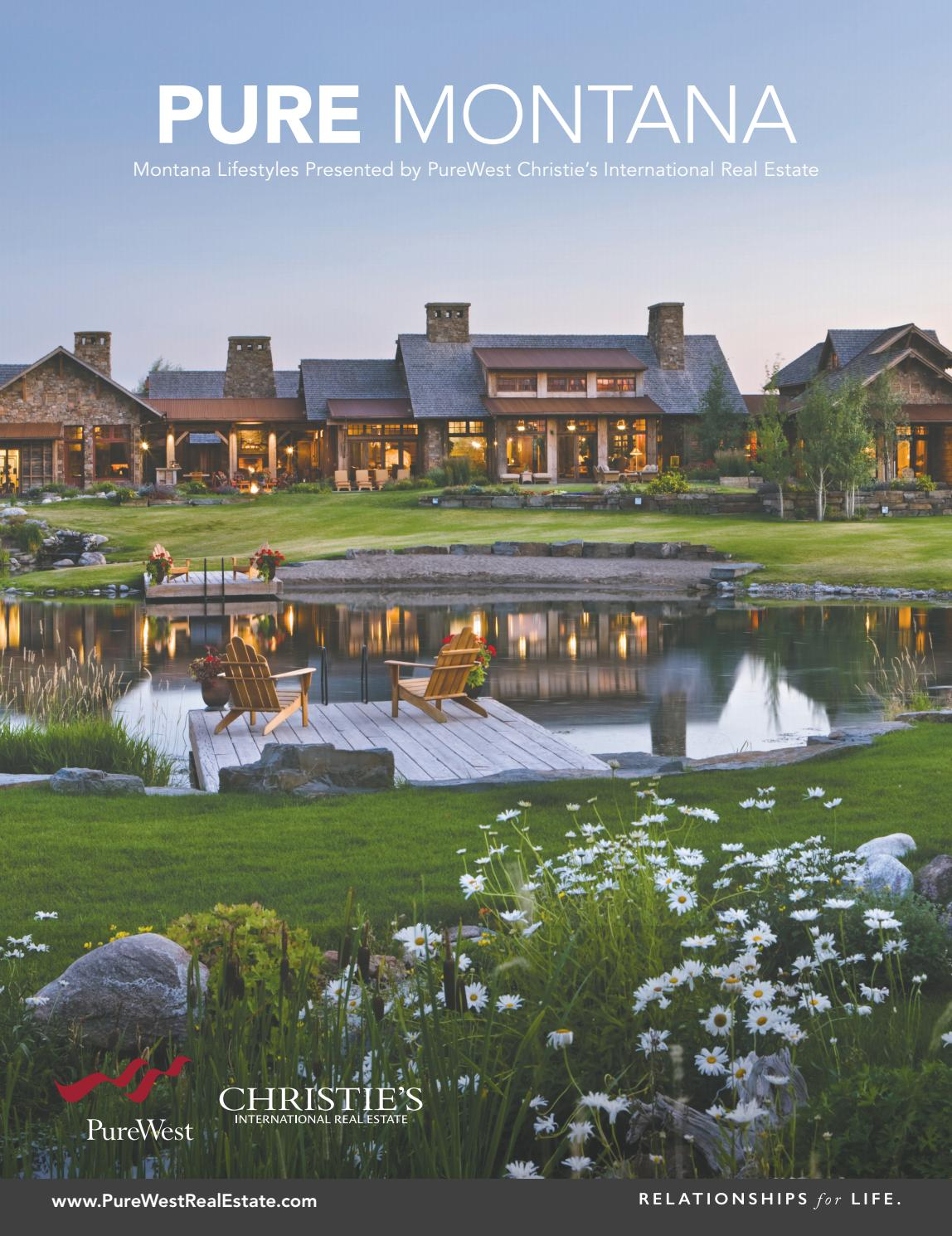 Pure Montana 2019 by PureWestRealEstate - issuu