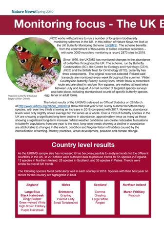 Page 16 of Monitoring focus - The UK Butterfly Monitoring Scheme