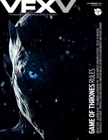 VFX Voice - Summer 2019 Issue by Visual Effects Society - issuu